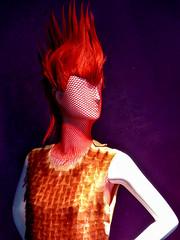 Mannequin (J Wells S) Tags: mannequin spikedhair dummy storewindowdisplaydummy wig fashion downtown cincinnati ohio creativityprogress evolutionfashionstudio mohawk mohawkhairstyle plasticpeople portrait
