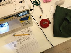 207/365 (moke076) Tags: 2018 365 project 365project project365 oneaday photoaday iphone cell cellphone mobile sewing machine class instructions linen topstitch atlanta sew learning table scissors measuring tape random activity