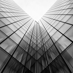 Reflective geometry  - - - #geometry #architecture #reflection #streetphotography #photo #photography #street #urban #blackandwhitephotography #blackandwhite #mobilephotography  (P. Farris aka russus) Tags: architecture reflection streetphotography photo photography street urban blackandwhitephotography blackandwhite mobilephotography