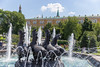 Brunnen mit vier galoppierenden Pferden am Manege-Platz in Moskau (marcoverch) Tags: fusball fans deutschland fusballwm football wm2018 moskau russland2018 moskva russland ru fountain brunnen water wasser travel reise park city stadt architecture diearchitektur outdoors drausen building gebäude tourism tourismus noperson keineperson tree baum summer sommer river fluss sculpture skulptur urban städtisch statue landscape landschaft tourist landmark wahrzeichen culture kultur noiretblanc flickr festival new ice moon plane sunlight home brunnenmitviergaloppierendepferde manegeplatz