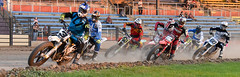Rounding the turn (maytag97) Tags: maytag97 nikon d750 motorcycle motorbike race compete speed dirt track event outdoor outside racers flat bike sport people pendleton oregon fast rider ama power action freedom competition transport danger wheel extreme win dangerous helmet motor risk gear competitive riding racer
