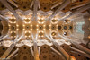 Cross vault in Sagrada Familia (patuffel) Tags: cross vault crossvault barcelona spain catalonia church basilica gaudi antonio