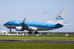 PH-BGX | KLM Royal Dutch Airlines | Boeing B737-7K2(WL) | CN 38635 | Built 2011 | DUB/EIDW 16/05/2018 (Mick Planespotter) Tags: aircraft airport 2018 dublinairport collinstown flight sharpenerpro3 nik b737 phbgx klm royal dutch airlines boeing b7377k2wl 38635 2011 dub eidw 16052018