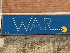 War pacman (Matt From London) Tags: croydon pacman war streetart matthewsyard
