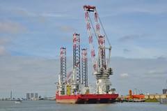 Seajacks Scylla (Hugo Sluimer) Tags: portofrotterdam port rotterdam zuidholland nederland holland haven nlrtm onzehaven