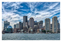 Boston MA (Timothy Valentine) Tags: 2018 clichésaturday codzilla large city fromtheboat waterfront 0618 boston massachusetts unitedstates us