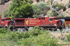 Northbound Oil Train (youngwarrior) Tags: deschutescanyon oregon oregontrunk bnsf oil train railroad ac44cw locomotive ge generalelectric
