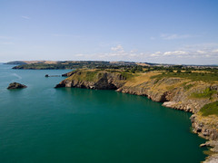 View From Berry Head (James.Green2001) Tags: brixham marina torquay torbay devon south uk photography young amateur drone dji phantom 3 standard