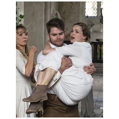 Helena, Lysander & Hermia (badger_beard) Tags: midsummer nights dream st johns church duxford cambs cambridgeshire south play actors players troupe this theatre company touring shakespeare william drama summer