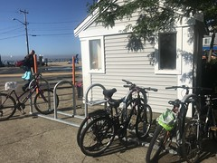 2018 Bike Rack Install AFTER (rikahlberg) Tags: provincetown bike rack cape cod commission community preservation act public fixation saris corral bicycle capecod cpa