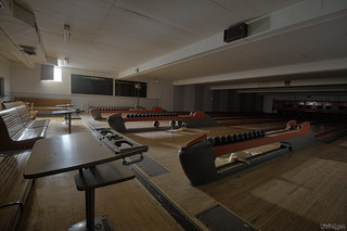 Art Deco Bowling Alley