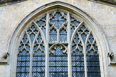 The transitional east window (1350's), the Church of St Mary, St Katherine and all Saints, Edington, Wiltshire, England (Spencer Means) Tags: east tracery transitional decorated perp perpendicular mary katherine allsaints edington wintshire church priory england uk gb dwwg