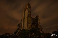 Touch The Sky (TVZ Photography) Tags: corfecastle corfe dorset castle ruins scenic landscape cloud night evening longexposure sonya7riii zeiss loxia 21mm