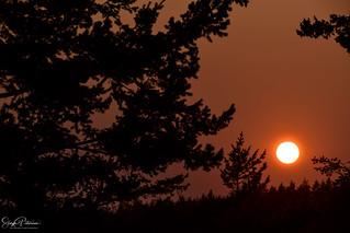 Deception Pass (Smokey) Sunset, Whidbey Island