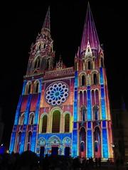 JLF18731 (jlfaurie) Tags: chartres cathédrale sonetlumières sonidoyluces soundandlights cathedral catedral france francia eureetloir mechas mpmdf lucila jlfaurie jlfr 11082018