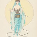 Vintage illustration of Paris exposition published in 1889 by Paul Eugène Mesplès thumbnail