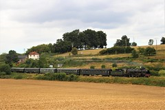 231G558_St_Victor_l_Abbaye (colson.p) Tags: locomotive train sncf railway old steam pvc 231g 231g558 pacific dieppe rouen sotteville saintvictorlabbaye saint victor abbaye
