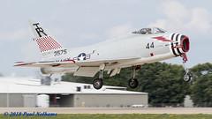 N400FS/Bu143575 North American FJ-4 Fury (Anhedral) Tags: kosh oshkosh airventure2018 airshow n400fs northamerican fj4b fury fighterjet usnavy warbird jet takeoff