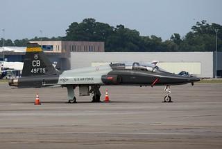 Air Force T-38C Talon, 49th FTS, Black Knights,