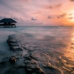 Sunset in Dhigufaru - Maldives - Travel photography thumbnail
