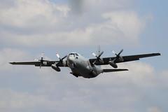 Swedish AF Lockheed C-130H Hercules 84007, departure CBG (robertetienne) Tags: swedishairforce lockheed c130 hercules cambridgeairport 84007 847 aircraft airplanes propellers military aviation