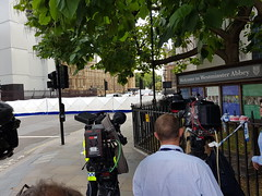 Westminster almost back to normal after the possible terror related offence this morning (Julie Ramsden) Tags: westminster terrorist parliament london