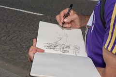 USk_Porto_2018_B_DSC_0373 (MarcVL) Tags: 2018 9thusksymposium july21th porto portugal praçadomunicipal saturday urbansketchers finalsketchwalk