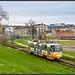 bunte Tram in Tallinn