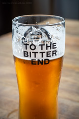 To The Bitter end (ianrwmccracken) Tags: beer brewdog pint ale punk ipa glass craft