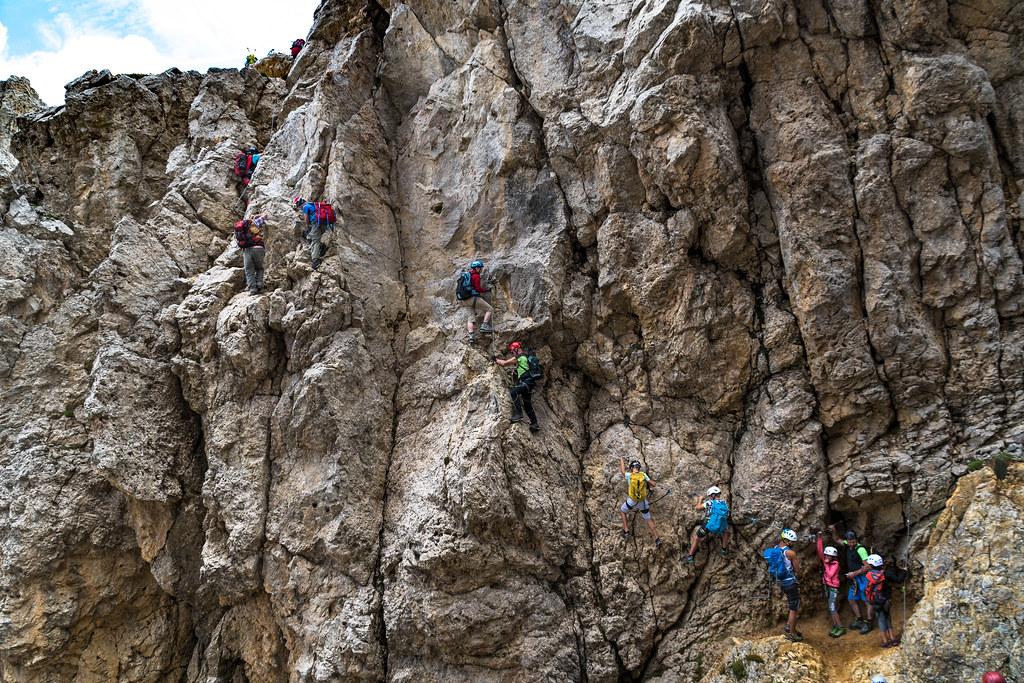 Klettersteig Rosengarten : The worlds best photos of klettersteig and rosengarten flickr