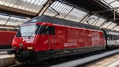 SBB Re 460 039 Zurich 17 July 2018 (1) (BaggieWeave) Tags: switzerland zurich train sbb re460