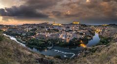 Toledo - Atardecer en el Mirador del Valle (jorge.alonsodejuan) Tags: toledo mirador del valle españa landscape cityscape sky sunset last light night photography panorama sony a7rii