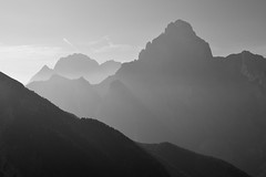 One more light (matteo.buriola) Tags: friuli alpi giulie val dogna jof di montasio landscape bw mountains nikon d3100 pasaggio breathtakinglandscapes