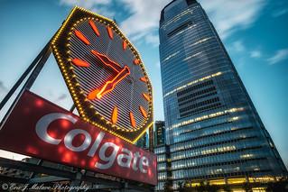 Colgate Clock Twilight