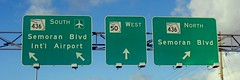 50 & 436 signs (keiteay) Tags: orlando florida colors highway freeway signs roadsigns photography