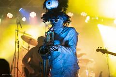 Here Come the Mummies! (mobybick2) Tags: events cedarburgsummersounds artistsandbands herecomethemummies musicgenres funkadelic places wisconsin cedarburg venues cedarburgparkbandshell 2018 bassguitar saxophone trumpet
