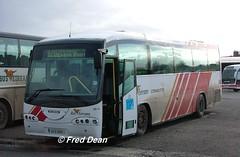 Bus Eireann SR14 (02D5049). (Fred Dean Jnr) Tags: dublin april2005 broadstonedepotdublin broadstone buseireannbroadstonedepot buseireann scania l94 irizar century cietoursinternational sr14 02d5049