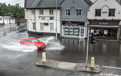A Splash Of Colour (Rob Pitt) Tags: a41 little sutton cheshire flood august 2018 wirral car water rain weather a7rii sony fe 2870 oss