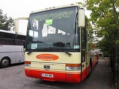 Grayway Coaches of Wigan YJ04BNL (harryjaipowell) Tags: lanarkshire battlecoachpark bus coach marketroad battle eastsussex coachpark graywaytravel walls higherince daf yj04bnl vdl sb4000 vanhool t9 alizée graywaycoaches wigan graywayholidays macphail c55f macphailscoaches newarthill scotland 2004 andersontravel bermondsey london reregistered m9gwy