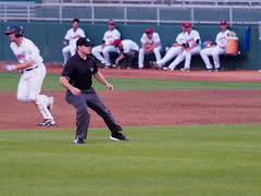 Jake Bruner, Brandon G 001 (mwlguide) Tags: baseball midwestleague bowlinggreenhotrods lansinglugnuts ballpark lansing leagues ballyard omd em1ii umpires people em1 4203 michigan omdem1mkii olympus 2018 20180814hotrodslugnutsem1raw1184203