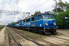 ET41-052-A (PM's photography) Tags: pkp cargo freight train spotting rail railway railroad et41 et4152 poznan wola e59