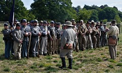 M5 Living History Show (jacquemart) Tags: spetchley worcester m5livinghistoryshow confederatearmy americancivilwar drill marching park
