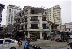 Vietnam, Hue City Street 20180213_095532 DSCN3177 (CanadaGood) Tags: asia asean seasia vietnam vietnamese hue building architecture traffic people person canadagood 2018 thisdecade color colour
