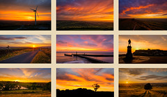 Sunsets and Sunrises this year (Dave2638) Tags: sunrise sunset yorkshire landscape west north low light whitby wilsden long exposure scenic bradford