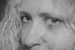 My Wife Black And White (_Lionel_08) Tags: black white grey eyes minolta 17 50mm portrait