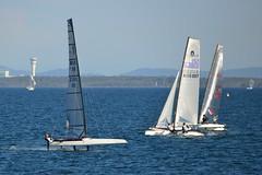 800_4788 (Lox Pix) Tags: queensland qld australia catamaran trimaran hyc humpybongyachtclub winterbash loxpix foilingcatamaran foiling bramblebay sailing race regatta woodypoint boat