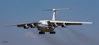 Ukraine Air Force Ilyushin 76M Transporter