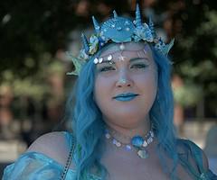 Mermaid (Scott 97006) Tags: woman female lady mermaid costume makeup amazing blue aquamarine creative stunning beauty
