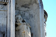 The Italian Benevolent Society Tomb at St. Louis Cemetery No. 1 (Studio d'Xavier) Tags: werehere monuments italianbenevolentsocietytomb stlouiscemeteryno1 tomb crypt neworleans