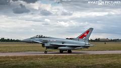 Eurofighter Typhoon FGR4 ZK318 RAF100